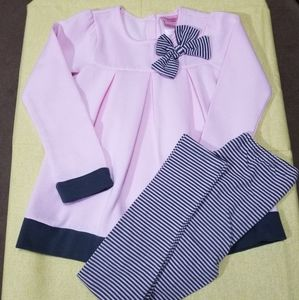 Girls 6X top & legging set